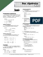 Álgebra(Teoria y Practica) ELITE X 3 Grados y Polin
