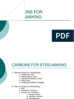 Carbons for Steel Making