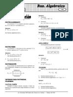 Álgebra(Teoria y Practica) ELITE X 5 Factorización