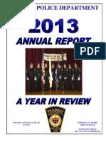 Peabody Police 2013 Annual Report