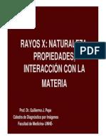 1.- Rayos X Naturaleza Producción