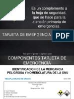 Tarjeta de Emergencia 1