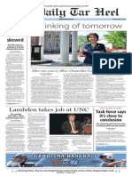 The Daily Tar Heel for April 25, 2014