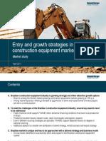 Roland Berger Brazilian Construction Equipment Market 20110414