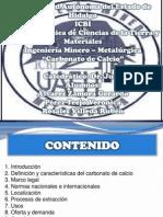 CARBONATO de CALCIO- Veronica Perez Trejo
