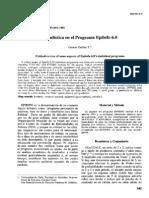 Epi Info version 6 guia rápida