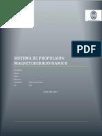 Proyecto Propulsor Magnetohidrodinamico - Fis III