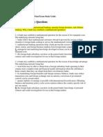 129655110 International Finance Final Exam Study Guide