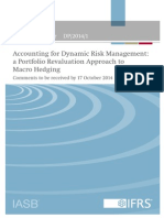 Discussion Paper Accounting for Dynamic Risk Management April 2014