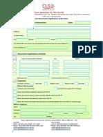 CLS Document Legalisation Order Form (2)