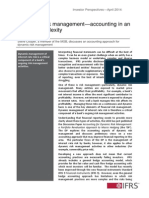 Investor Perspective Dynamic Risk Management April 2014