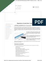 Lease Deed Registration