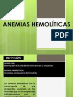 PPT.ANEMIAS HEMOLÍTICAS