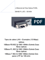Transceiver Ethernet de Fibra Óptica FOIRL