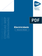 CYPECAD MEP Electricidade Manual Do Utilizador