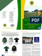 VUWAFC Programme 26 April 2014