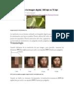 La Resolución de La Imagen Digital