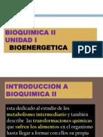 Tema 1 Bioquimica II