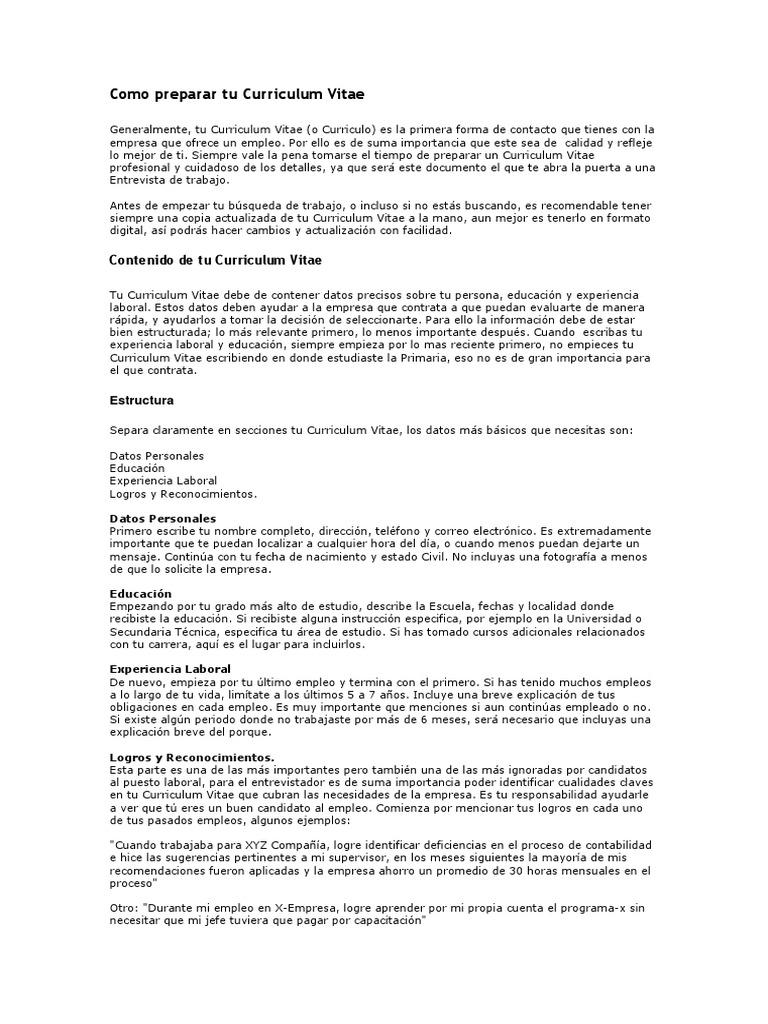 Lujoso Escuela Secundaria Sin Plantilla De Currículum De Experiencia ...