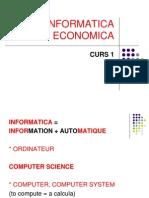 Informatica economica- Curs