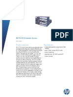 HP V1910 Switch Series DS