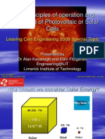 Photovoltaic Solar Cells Presentation