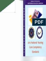 2012 National Nursing Core Competency Standards