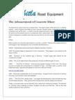 The Advancement of Concrete Mixer
