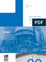 EU Omron Corporate Profile Brochure