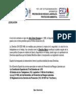 Presentación Tema15 PRL Legislación