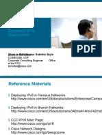 Enterprise IPv6 Design