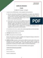 DISEÑO DEL PROGRAMA MATRIZ DE LEDS 18X18