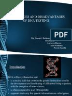 DNA Testing - Advantages & Disadvantages