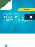 Ghidul pentru libera circulaţie a moldovenilor în UE
