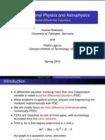 Computational physics and Astrophysics