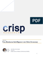Von Business Intelligence zur Data Economy