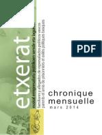 Chronique - Mars 2014-1