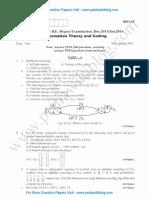 Information Theory & Coding Jan 2014