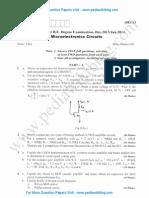 Microelectronics Circuits Jan 2014