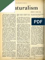 Clark - Naturalism - The Southern Presbyterian Journal