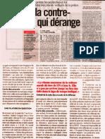 """Libération 02/11/09 """"Tarnac"""