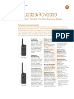 RDX Series™ On-Site Two-Way Business Radios