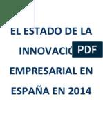 Estado de Innovación Empresarial en España en 2014