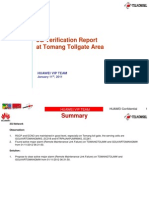 2G 3G Report Tomang Tollgate Area 110112