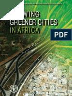 Growing Greener Cities in Africa - FAO