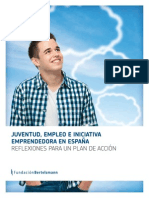 Jóvenes, Empleo e Iniciativa Emprendedora en España
