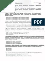 MODELO A Profesor Formación Vial Curso XVI - Examen Primera Evaluación (24.04.2014)