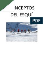Los Conceptos Del Esquí