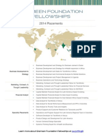 2014 Grameen Foundation Fellowships - Placements