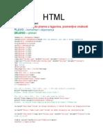 HTML i JavaScript
